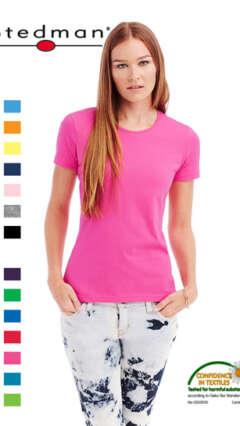 Дамска памучна тениска с къс ръкав Stedman ST2600