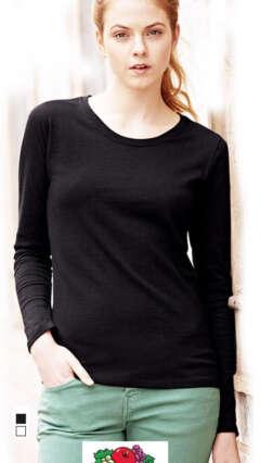8b083a46426 Дамска памучна блуза дълъг ръкав LADY-FIT VALUEWEIGHT LONG SLEEVE T