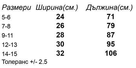 таблица-размери-Детски-анцуг-долнище-KIDS-PREMIUM-ELASTICATED-CUFF-JOG-PANTS