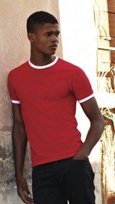 Двуцветна тениска RINGER T