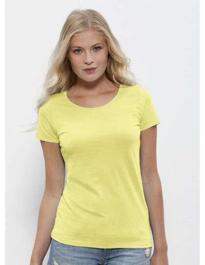Дамска тениска с широко деколте Stella Loves Slub
