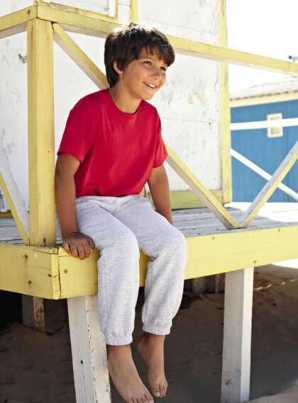 Детски анцуг долнище KIDS CLASSIC ELASTICATED CUFF JOG PANTS