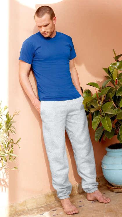 Мъжки анцуг долнище CLASSIC ELASTICATED CUFF JOG PANTS - 64026