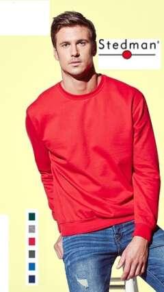 Мъжка ватирана блуза с дълъг ръкав по собствен дизайн