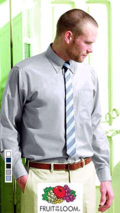 Мъжка риза с дълъг ръкав LONG SLEEVE OXFORD SHIRT