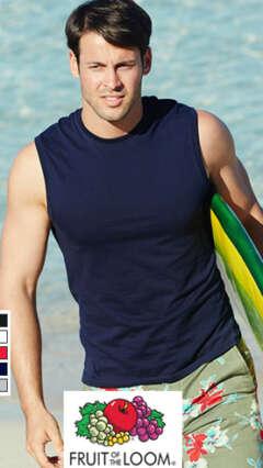 Мъжки памучен потник тип тениска без ръкави VALUEWEIGHT TANK T