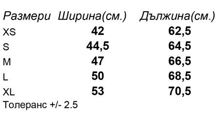 таблица-размери-Дамска-модерна-раирана-тениска-STELLA-CRUISES