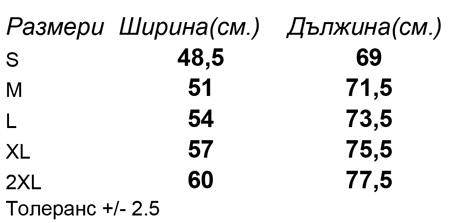 таблица-размери-мъжка-тениска-STANLEY-LEADS-POCKET-O