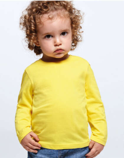 Бебешка тениска с дълъг ръкав Roly T-SHIRT BABY