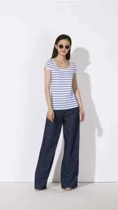 Дамска модерна раирана тениска STELLA CRUISES