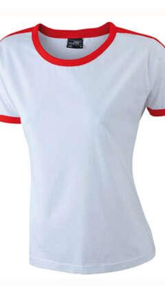 Дамска вталена тениска LADIES FLAG-T