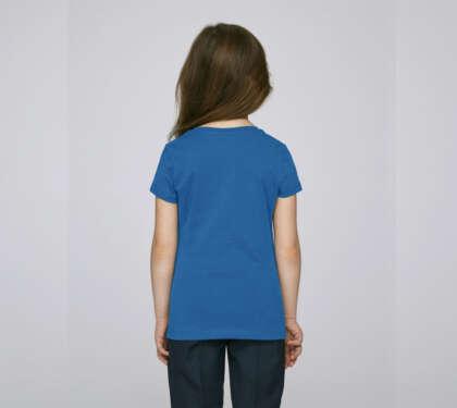 Детска леко вталена тениска за момиче MINI STELLA DRAWS Outlet