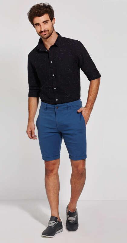 Мъжки къс панталон с класическа кройка Ringo