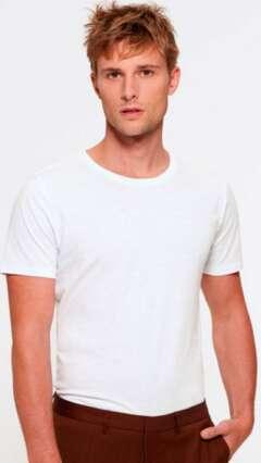 Тениска от мек органичен памук LIVE