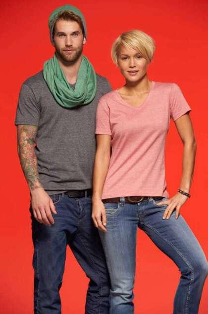 Мъжка вталена тениска MENS HEATHER T-SHIRT