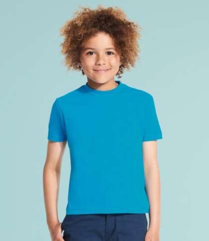 Изчистена памучна детска тениска