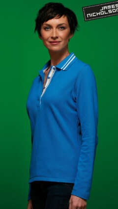 damska-teniska-LADIES POLO LONG-SLEEVED-JN967