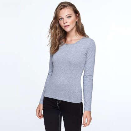 Дамска вталена тениска с дълъг ръкав EXTREME WOMAN CA1218