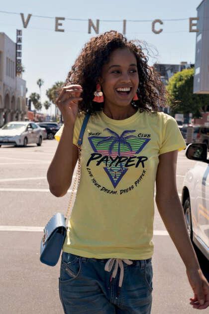 payper-sunset-lady-t-shirt