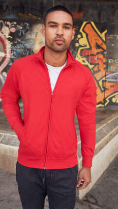 mujka-bluza-s-zip-LIGHTWEIGHT SWEAT JACKET