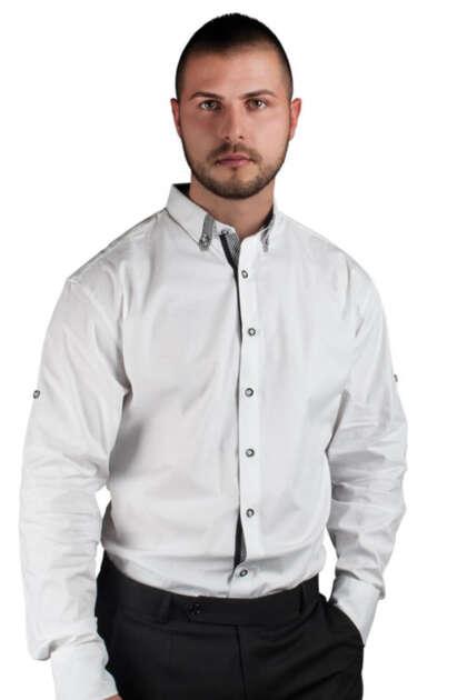 mujka-riza-dulug-rukav-ALBERTO MAN WHITE SHIRT